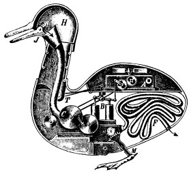 The Duck of Vaucanson, but not really